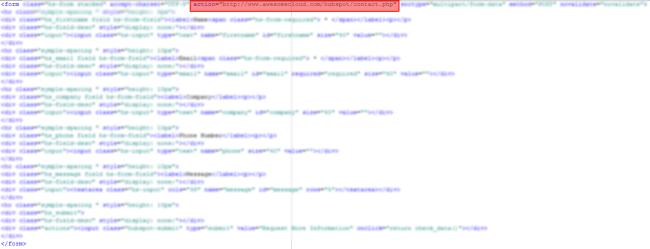 HubSpot Form HTML